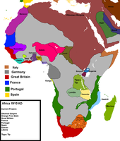 Alternate History- No Scramble for Africa- 1910 by eddsworldbatboy1