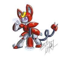 :doodle: Peppercat by Sofua