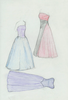 Dresses by lunasis