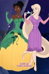 Disney females. Part 10. Tiana and Rapunzel by Angellovix