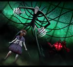 Slender Man meets Big Daddy by HannahNew