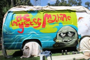 Mystery Machine Side 1 by lickingstitches