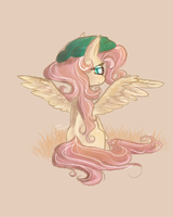 Fall fluttershy by sparklyAxolotl