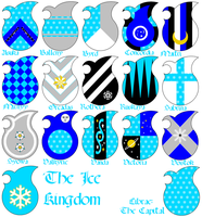 Heraldry of the Ice Kingdom by Kingda-Ka