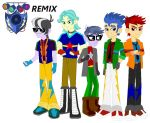 Flash Drive Remix outfits by Karalovely