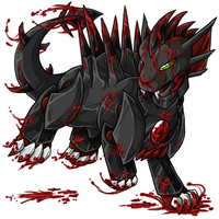 Bloodred Cadogre - Fullsize by LinaLina
