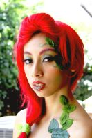 Poison Ivy pin up cosplay by MarzuChicas