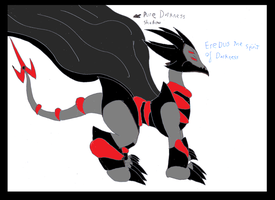 Erecus the spirit of darkness by pd123sonic