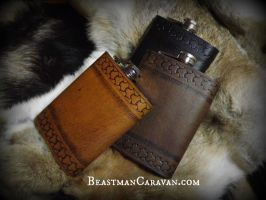 Viking Flask Trio by The-Beast-Man