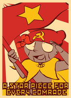 A STAR PIECE FOR EVERY COMRADE by MeganImel