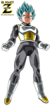 Vegeta FNF Super Saiyan God Super Saiyan by el-maky-z