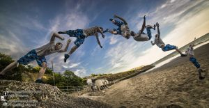 Leaping Across 2013.08.26 by Tomas Mascinskas by TMProjection