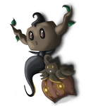 Phantumb and Pumpkaboo by GenRoyd