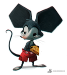 Daily Painting 759. Mickey Mouse by Cryptid-Creations