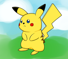 Vector Pikachu by AgentLym