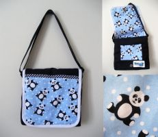 Panda Bee Bag by Teena-Bee