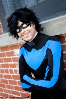 Smiles : DC Comics : Nightwing l by Lossien