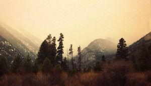 Misty Mountains by maureeza