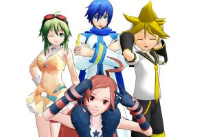 The best of MMD-staff by JuliaDS