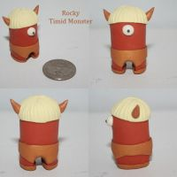 Rocky Timid Monster by TimidMonsters