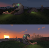 Minecraft Serpent by Iceheart160
