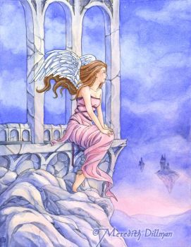 Book art - Castles in the Sky by MeredithDillman