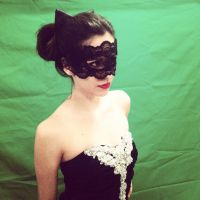 TDKR: Catwoman masquerade mask and ears by Romantically-Geeky