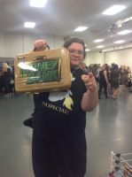 LFCC 2015: Me with the MITB by sonamy-666