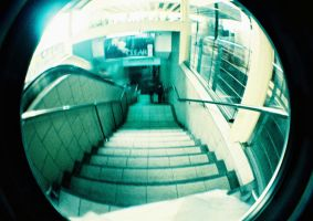 Stairs... OH NO by lomocotion
