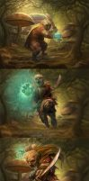 Gnome Boss sequence by d-torres