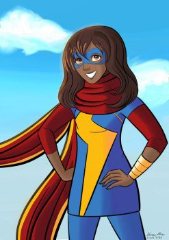 Ms Marvel by SherriRose