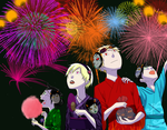 fireworks by frillium