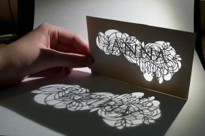 Light Stencil by OftenSaid