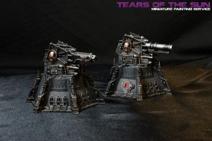 Wall of Martyrs: Vengeance Weapon Battery by DeathShadowSun