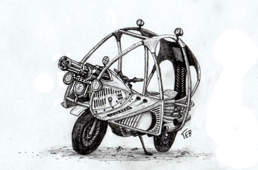 Patterson brothers' motorcycle concept by Stingray-24