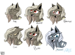 The Expressions of Dust (and Frost...?) by Aryncoryn