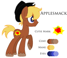 MLP:Applesmack Profile by kiananuva12