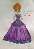 Bloom in Gown Form (Winx) by Chronicles0927