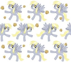 Derpy Hooves Tile Wallpaper by steffy-beff
