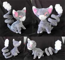 Glameow Plush by xBrittneyJane