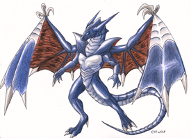 King of Dragons, Bahamut by Catwolf