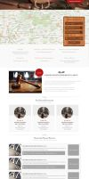 Webdesign for catalog of lawyers by AlsusArt