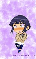 Hinata chibi colored....x_x by shock777