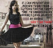 Demi Lovato Quote 2 by Stay-Strong