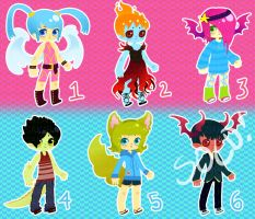 Lineless Adopts (1/6 OPEN) Price Reduced AGAIN by Kariosa-Adopts