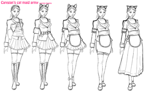 mirimeido costume designs by Caregan
