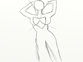 Practice human dynamic pose bc by gtstyling32