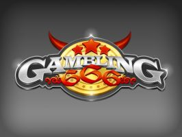 Gambling 666 Logo by eyenod