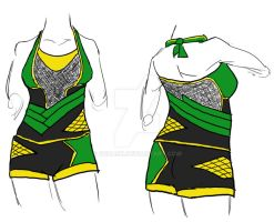 Loki Swimsuit by ccRask