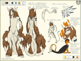 Lykaly Reference Sheet by dracothrope